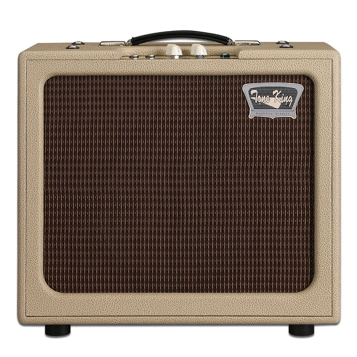"Tone King Gremlin 5W Hand-Wired 1x12"" Tube Combo Built-In Attenuator Cream"