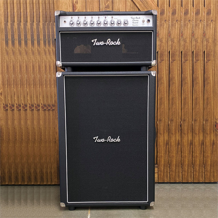 Two-Rock Classic Reverb Signature 100/50w Guitar Amplifier Stack
