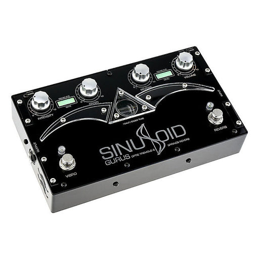 Gurus Amps Sinusoid Tube Driven Optical Tremolo & Spring Reverb