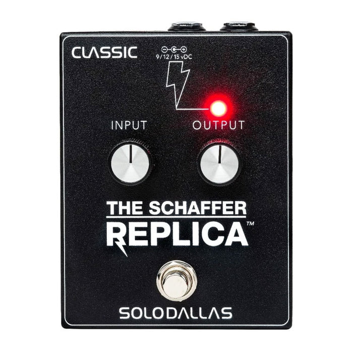 The Schaffer Replica Pedal Authentic Schaffer-Vega Angus Tone!
