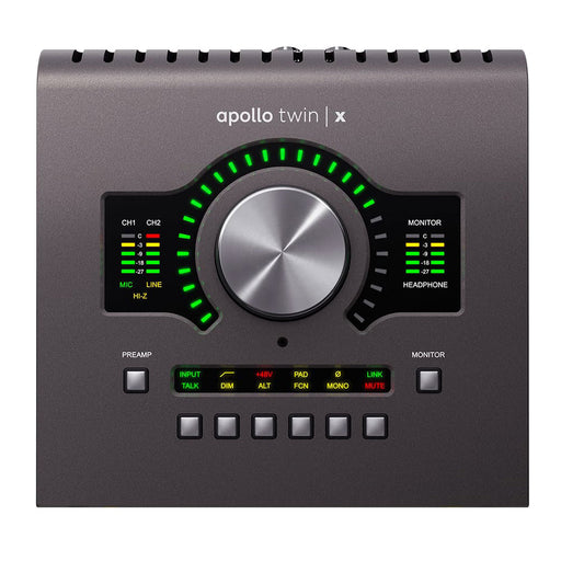Universal Audio Apollo Twin X Quad Core Processing Audio Interface Mac/Win