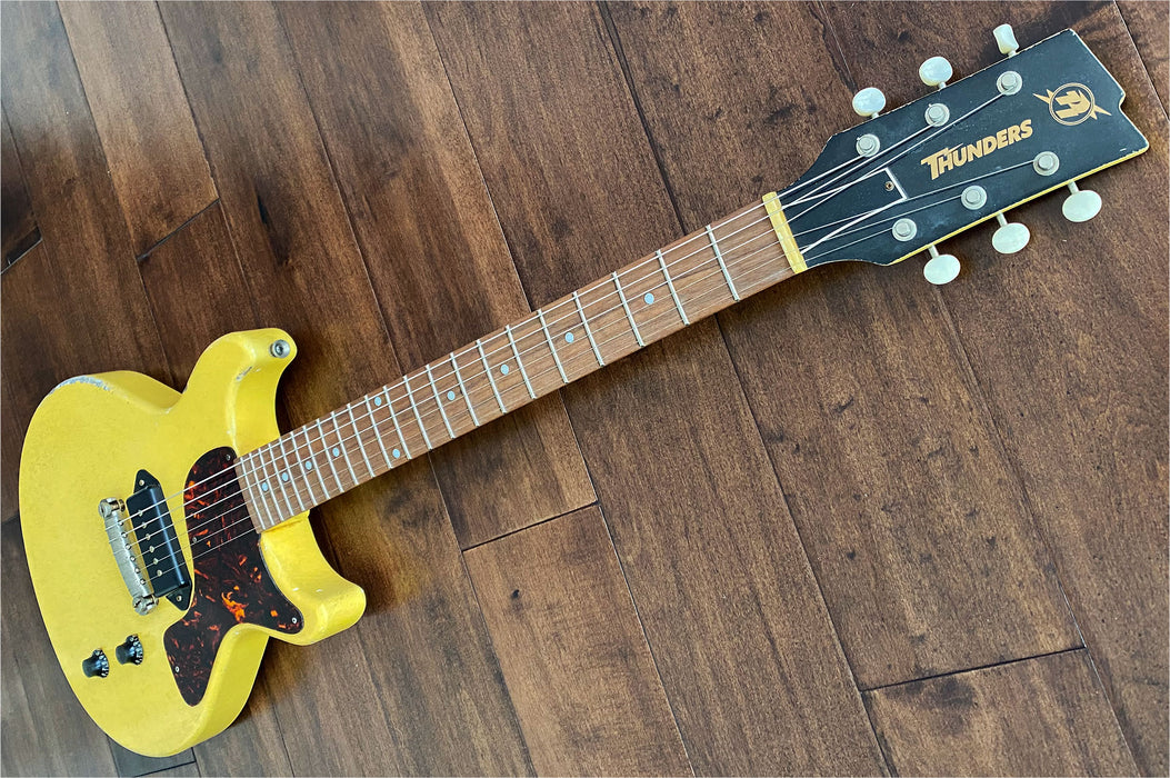 Rock N Roll Relics Thunders DC Electric Guitar Aged TV Yellow 201002