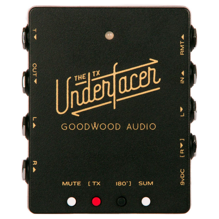 Goodwood Audio TX Underfacer Pedalboard Audio Interface