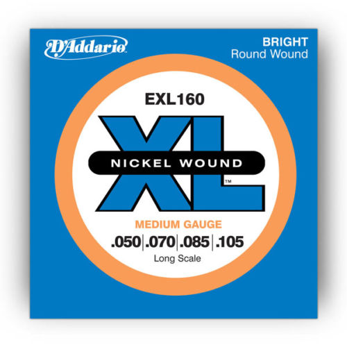 D'Addario Bass Strings EXL160 Long Scale Gauge .050 - .105