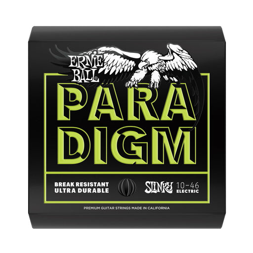 Ernie Ball 2021 Paradigm Regular Slinky Electric Guitar Strings (10-46)