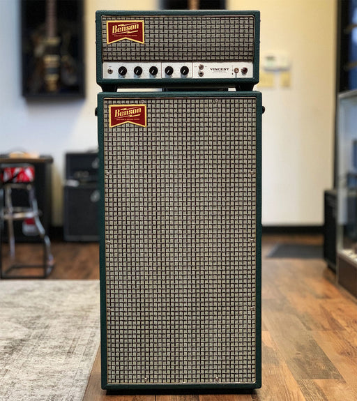 Benson Amps Vincent 30 Watt Channel Switching Guitar Amplifier Stack
