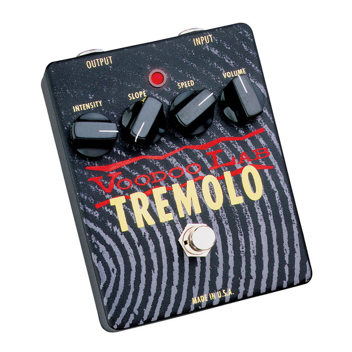 Voodoo Lab Tremolo Pedal Authentic Lamp & Photocell Tremolo Circuit