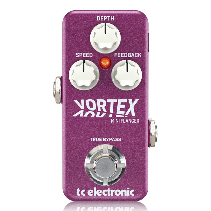 TC Electronic Vortex Mini Flanger Pedal Tone Print Enabled