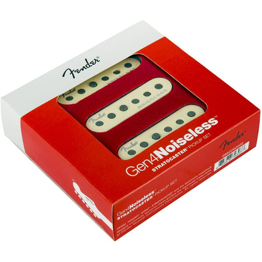 Genuine Fender Gen 4 Noiseless Stratocaster Pickup Set 0992260000