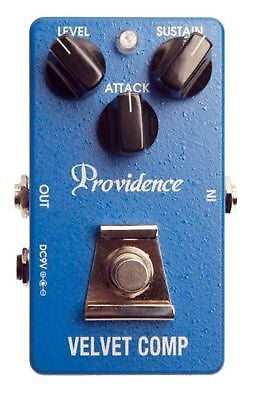 Providence Velvet Comp Compressor Pedal VLC-1 Smooth, Lustrous Compression