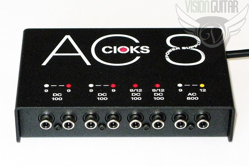 Cioks AC8 Isolated AC Power Supply 8 Filtered Outputs, 5 Isolated