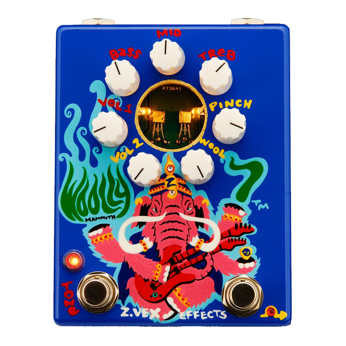 Zvex Effects Woolly Mammoth 7 Hand Painted Fuzz Pedal