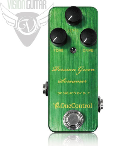 One Control Persian Green Screamer - Designed By BJF