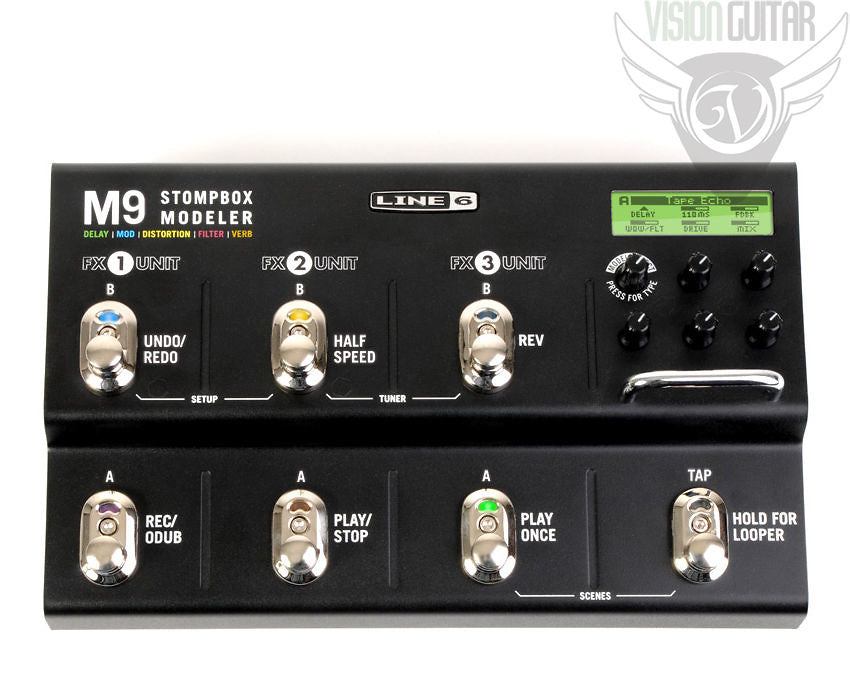 Line 6 M9 Stompbox Modeler - All In One Stompbox Solution