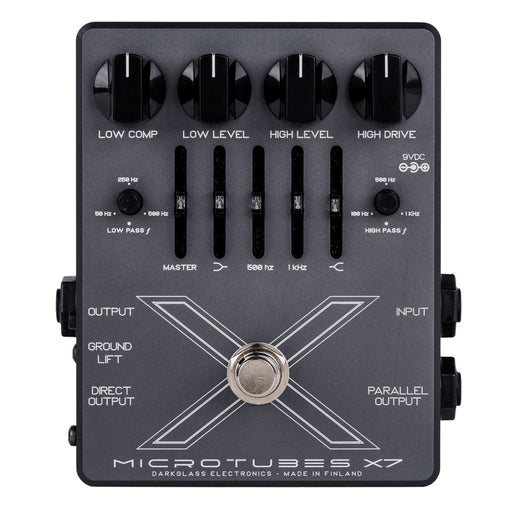 Darkglass Microtubes X7 Bass Overdrive & Fuzz