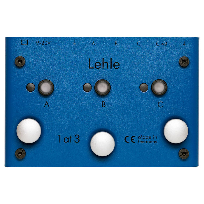 Lehle 1at3 SGoS 1@3 True-Bypass Switcher