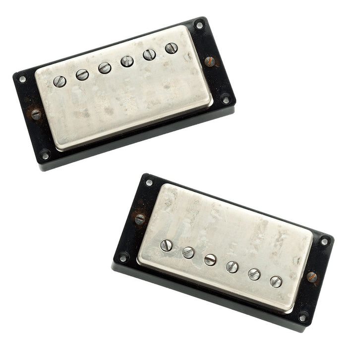 Seymour Duncan Antiquity Humbucker Pickup Set Aged Nickel Cover