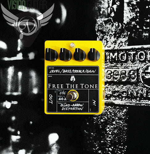Free The Tone QA-2 Quad-Arrow Distortion Overdrive