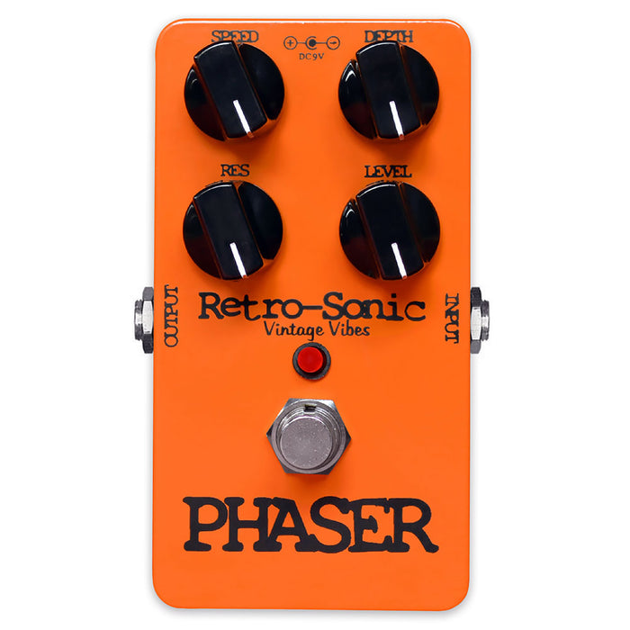 Retro-Sonic Phaser Script Logo Phase 90 Tone With True-Bypass