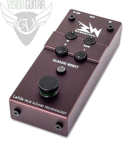 RMI Basswitch Classic Boost - True Sound Technology - Bass Guitar Preamp DI
