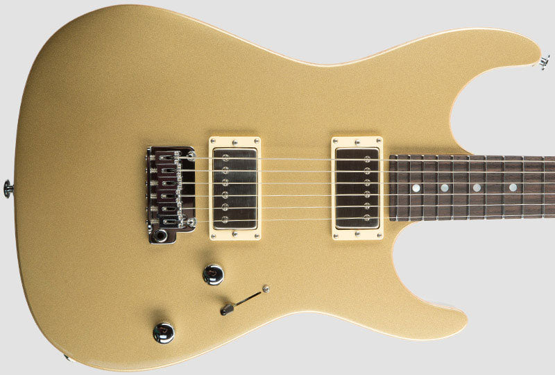 Suhr Pete Thorn Signature Standard Pro HH Electric Guitar Trans-Brown Goldtop