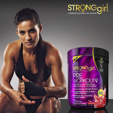 STRONG GIRL PRE-WORKOUT POWERFUL & ENERGIZING PERFORMANCE MOTIVATOR