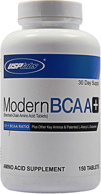USP Modern BCAA+ MOST POWERFUL BCAA SUPPLEMENT RECOVERY 150tabs