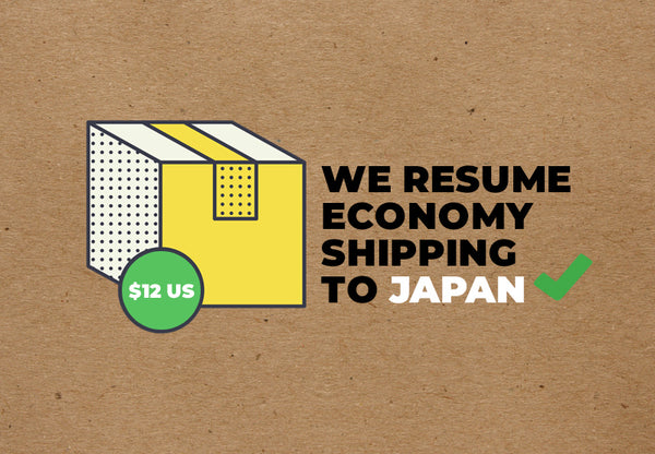Economy Shipping to Japan