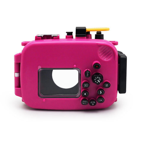 Olympus TG-3 / TG-4 60m/195ft SeaFrogs Underwater Camera Housing (Pink)