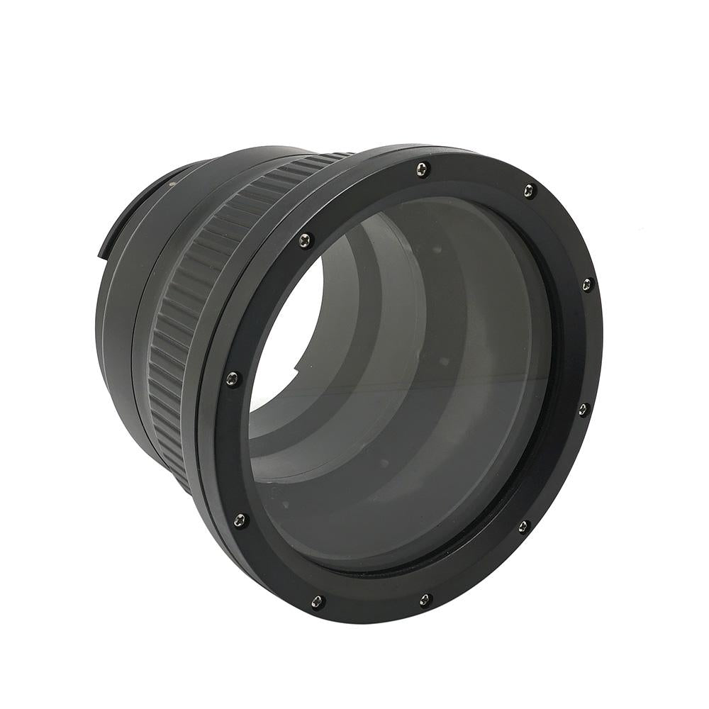 Flat long port for A6xxx series Salted Line (18-105mm & 18-135mm and Sigma 16mm lenses) UW housing - Zoom gear (18-135mm) Included - A6XXX SALTED LINE