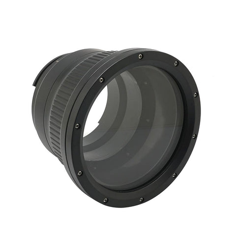 Flat long port for A6xxx series Salted Line (18-105mm & 18-135mm and Sigma 16mm lenses) UW housing - Zoom/Focus gear not included - A6XXX SALTED LINE