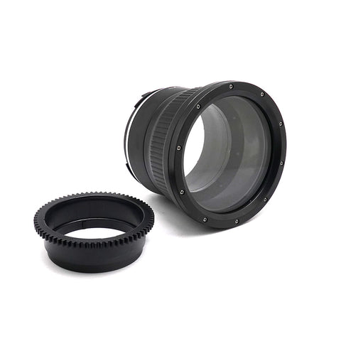 Flat port for Sony FE 28-70mm F3.5-5.6 OSS Lens 40M/130FT (Manual zoom gear included)