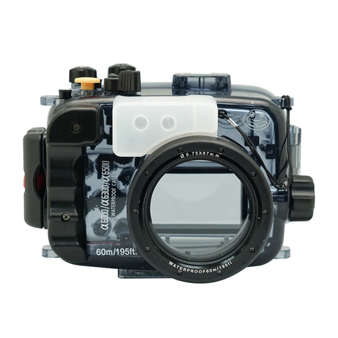Sony A6500/A6400/A6300/A6000 60m/195ft SeaFrogs Underwater Camera Housing bundle - A6XXX SALTED LINE