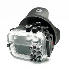 Canon EOS M3 40m/130ft Underwater Camera Housing with Dry dome port V.3 - A6XXX SALTED LINE