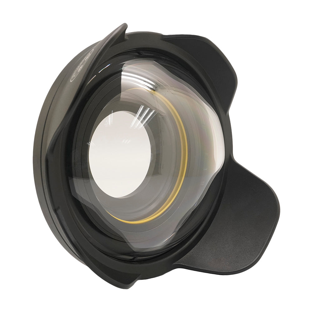 "Wide Angle Wet Correctional Dome Port Lens ⌀ 6"" (67mm Round Adapter) - A6XXX SALTED LINE"