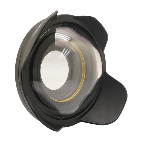 "Wide Angle Wet Correctional Dome Port Lens ⌀ 6"" (67mm Round Adapter)"