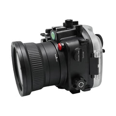 Sony A7R IV 40M/130FT Underwater camera housing (Standard port) Zoom ring for FE16-35 F4 included