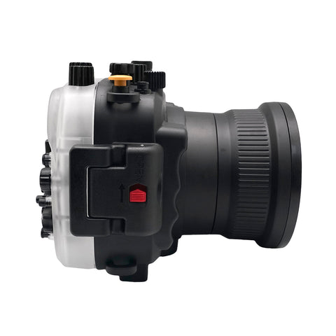 Sony A7 NG Series 40M/130FT Underwater camera housing (Standard port) Black - A6XXX SALTED LINE