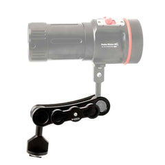 Underwater Video light / Strobe mounting system MS1 - A6XXX SALTED LINE