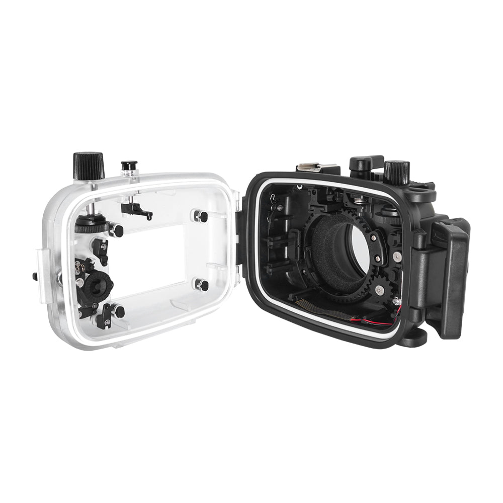 Canon G7X-III 40m/130ft SeaFrogs Underwater Camera Housing - A6XXX SALTED LINE