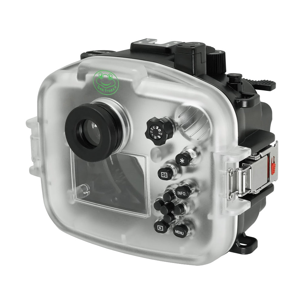 Canon EOS M50 / EOS Kiss M (22mm) 40m/130ft SeaFrogs Underwater Camera Housing - A6XXX SALTED LINE