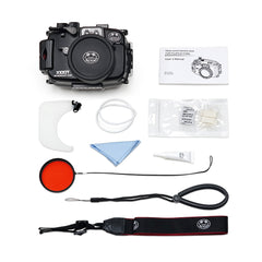 Fujifilm X100T 40m/130ft Underwater Camera Housing bundle