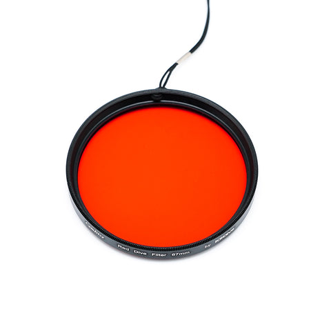 KitDive 67mm Red Filter for underwater photography (Wet)
