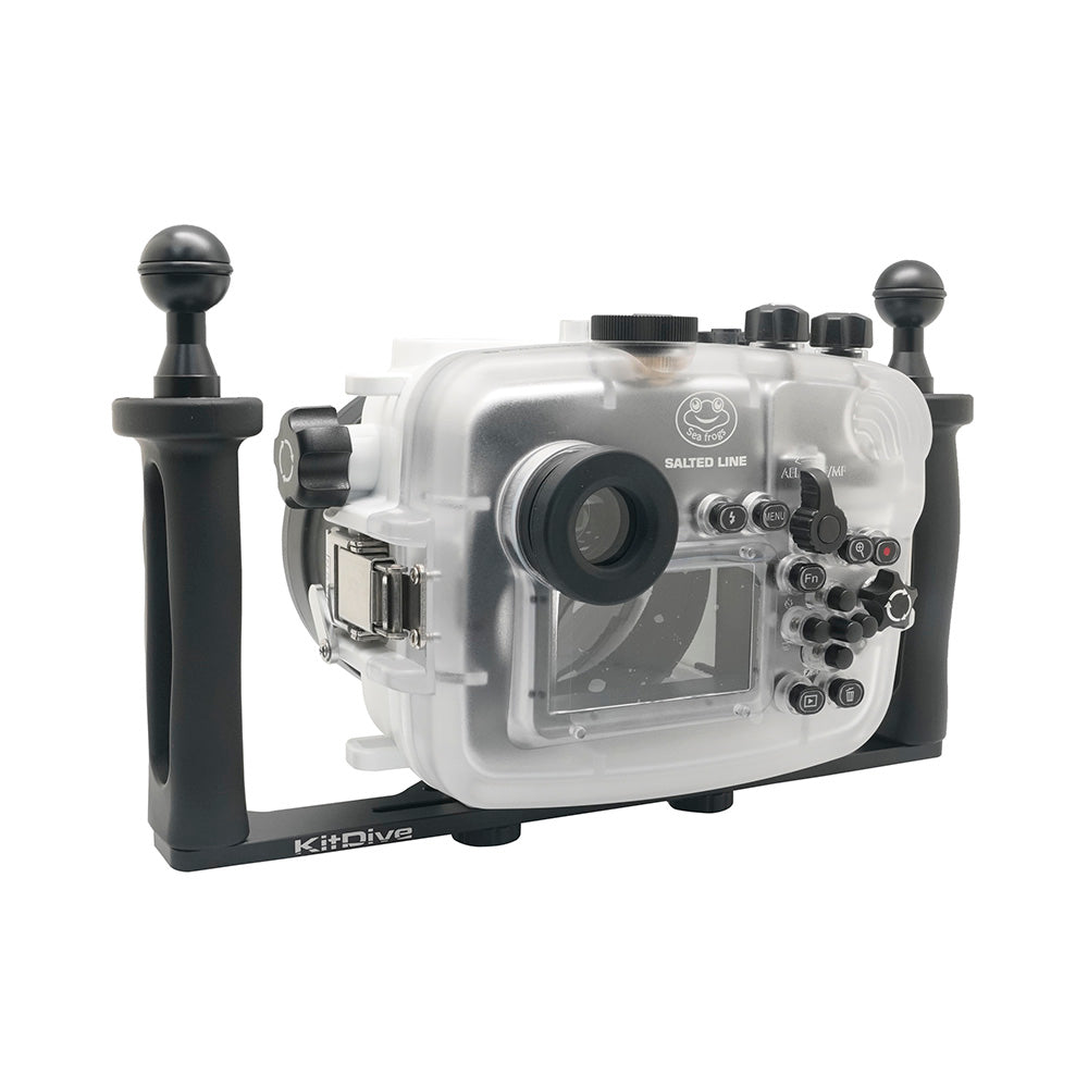 Lightweight Aluminium tray for underwater camera housing - A6XXX SALTED LINE