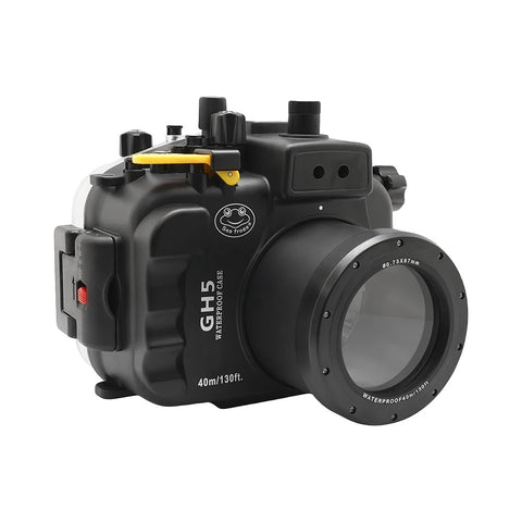 Panasonic Lumix GH5 & GH5S 40m/130ft Underwater Camera Housing with Standard port