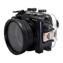 SeaFrogs UW housing for Sony A6xxx series Salted Line with 67mm threaded short / Macro port