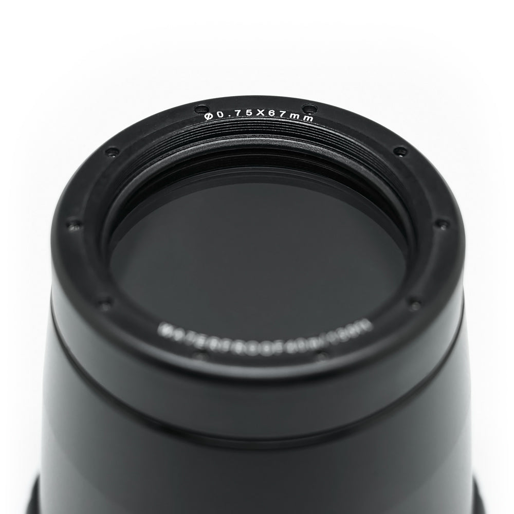 Flat Long port with 67mm thread for Sony FE 90mm Macro lens 40M/130FT (Focus gear optional)