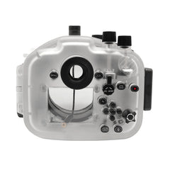 Sony A7 II NG V.2 Series 40M/130FT Underwater camera housing (Long port) White