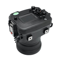 Canon EOS M6 Mark II 40m/130ft Sea Frogs Underwater Camera Housing with 18-55mm/11-22mm flat port