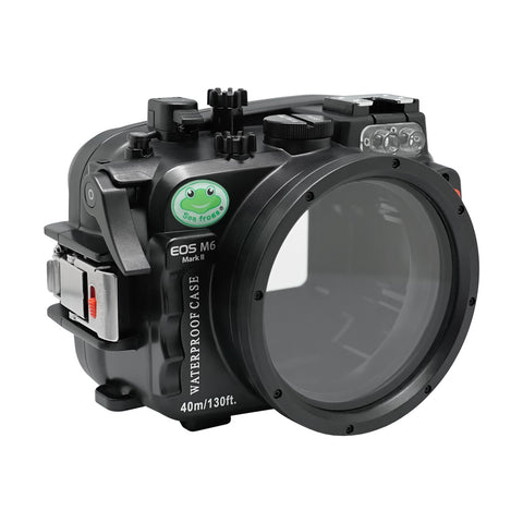 Canon EOS M6 Mark II (22mm) 40m/130ft Sea Frogs Underwater Camera Housing
